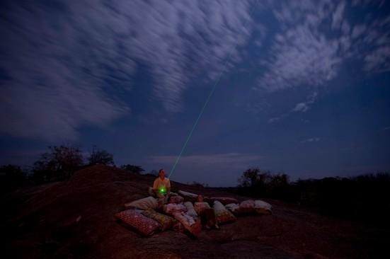 Stargazing at Sanctuary Kusini in Tanzania